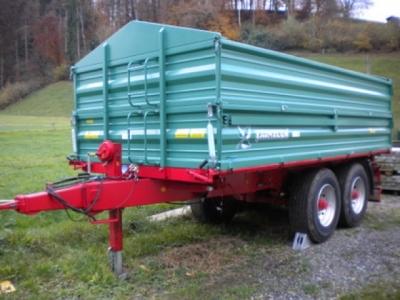 Kippanhänger Farmtech TDK 1600 Demomaschine